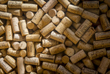 Wine Bottle Corks on Display in Saint Germain Des Pres, Paris France Photographic Print by Brian Jannsen