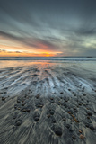 Sunset at Ponto Beach in Carlsbad, Ca Photographic Print by Andrew Shoemaker