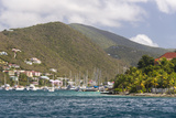 Bvi, Tortola, Soper's Hole. Winds Up, Moorings Full Photographic Print by Trish Drury