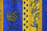 France, Bouches-Du-Rhone. Aix-En-Provence. Textiles at Market Photographic Print by Kevin Oke