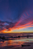 Sunset over the Pacific from Coronado Photographic Print by Andrew Shoemaker