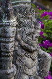 Bali, Indonesia. Guardian, Dwarapala, Statue in Kerta Gosa Compound Photographic Print by Charles Cecil