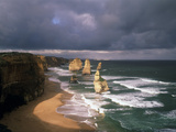 Australia, Port Campbell NP. Twelve Apostles Rock Formation Photographic Print by Howie Garber