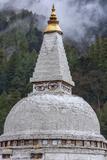 Bhutan, Himalaya, Stupa Photographic Print by Gavriel Jecan