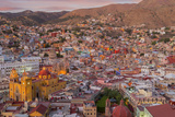 Mexico, Guanajuato. Panoramic Overview of City Fotografie-Druck von Jaynes Gallery