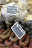 France, Aix-En-Provence. Chorizo, Place Richelme Food Market Photographic Print by Kevin Oke