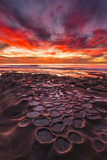 Amazing Sunset at the Tide Pools in La Jolla, Ca Photographic Print by Andrew Shoemaker