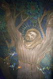 Mural in St. Nicholas Croatian Catholic Church, Millvale, Pa, Usa Photographic Print by Dave Bartruff