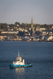 Tugboat in the Harbor of Cobh, Cork, Ireland Photographic Print by Brian Jannsen