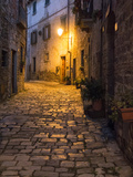 Italy, Tuscany. Montefioralle Near the Town of Greve in Chianti Photographic Print by Julie Eggers