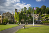 Manor House Hotel, Castle Combe, Cotswolds, Wiltshire, England Photographic Print by Brian Jannsen