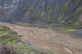 River Delta Running Through a Mountain Range, Landmannalaugar, Iceland Photographic Print by Gavriel Jecan