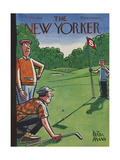 The New Yorker Cover - August 25, 1956 Metal Print by Peter Arno