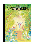 The New Yorker Cover - May 19, 2008 Metal Print by Jean-Jacques Sempé