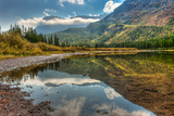 Fishercap Lake, Glacier NP, Near Kalispell and Many Glacier, Montana Photographic Print by Howie Garber