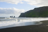Iceland. South. Vik I Myrdal. Reynisdrangar Sea Stacks Photographic Print by Inger Hogstrom
