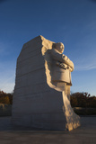 USA, Washington Dc, Martin Luther King Memorial, Sunrise Photographic Print by Walter Bibikow