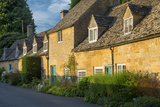 Attached Cottages in Snowshill, Cotswolds, Gloucestershire, England Photographic Print by Brian Jannsen