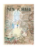 The New Yorker Cover - August 1, 1983 Metal Print by Jean-Jacques Sempé