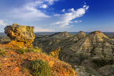 Badlands, Terry Badlands Wilderness Study Area, Montana, Usa Photographic Print by Chuck Haney