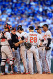 ALCS - Baltimore Orioles v Kansas City Royals - Game Four Photographic Print by Jamie Squire