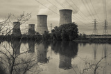 USA, Pennsylvania, Three Mile Island Nuclear Power Generating Station Photographic Print by Walter Bibikow