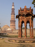 New Delhi, India. Smith's Folly, Qutb Minar,Victory Tower and Minaret Photographic Print by Charles Cecil