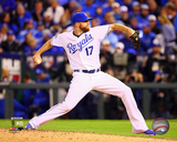 Wade Davis Game 3 of the 2014 American League Championship Series Action Photo