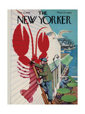 The New Yorker Cover - March 22, 1958 Metal Print by Arthur Getz