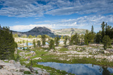 Alaska Basin Lakes, Caribou, Targhee National Forest, WYoming Photographic Print by Howie Garber