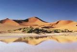 Namibia, Sossusvlei Region, Sand Dunes at Desert Photographic Print by Gavriel Jecan