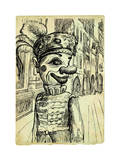 Scary Clown Prints by  KUCO