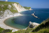 View Above Man O War Bay Along the Jurassic Coast, Dorset, England Photographic Print by Brian Jannsen