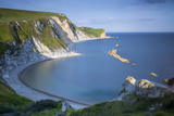 Overlooking Man O War Bay Along the Jurassic Coast, Dorset, England Photographic Print by Brian Jannsen