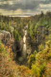 North America, Canada, Ontario, Terrace Bay, Aguasabon Gorge Photographic Print by Frank Zurey