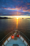 USA, Alaska. Sunset Seen from Boat at Flynn Cove Photographic Print by Jaynes Gallery