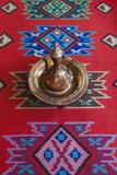Albania, Gjirokastra, Ethnographic Museum, Ottoman House Interior Photographic Print by Walter Bibikow