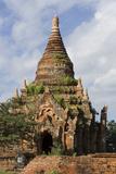Thitsawady Pagoda. Bagan Pagodas. Bagan. Myanmar Photographic Print by Tom Norring
