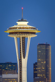 Seattle Space Needle, Seattle, Washington, Usa Photographic Print by Brian Jannsen