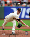 Tim Hudson Game 3 of the 2014 National League Championship Series Action Photo