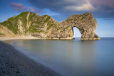Evening at Durdle Door Along the Jurassic Coast, Dorset, England Photographic Print by Brian Jannsen