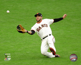 Gregor Blanco Game 3 of the 2014 National League Championship Series Action Photo