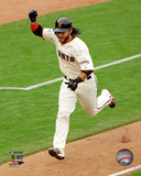 Brandon Crawford celebrates winning Game 3 of the 2014 National League Championship Series Photo