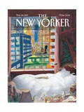 The New Yorker Cover - November 24, 1997 Metal Print by Jean-Jacques Sempé