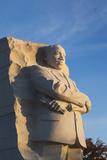 USA, Washington Dc, Martin Luther King Memorial, Sunrise Fotografisk trykk av Walter Bibikow