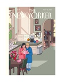 The New Yorker Cover - May 13, 2013 Metal Print by Chris Ware