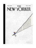 The New Yorker Cover - February 4, 2013 Metal Print by Birgit Schössow
