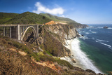 The Bixby Bridge Along Highway 1 on California's Coastline Photographic Print by Andrew Shoemaker