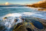 Rock Formations Along the Coastline Near Sunset Cliffs, San Diego, Ca Photographic Print by Andrew Shoemaker
