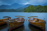 Along the Shore of Derwentwater in the Lake District, Cumbria, England Photographic Print by Brian Jannsen